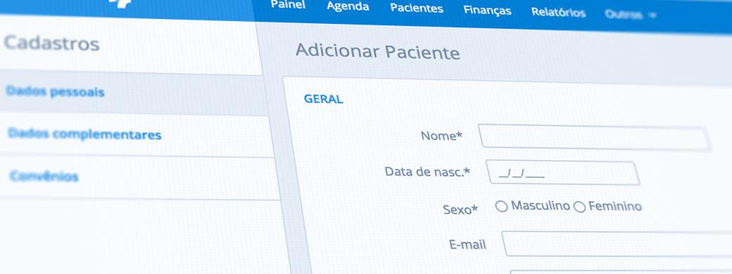 registro de pacientes