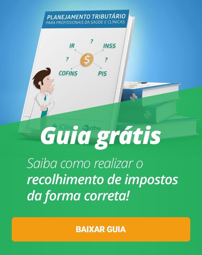 Guia de Planejamento Tributário para Clínicas e Consultórios Médicos. Veja como economizar na hora de declarar seus impostos. Clique aqui!