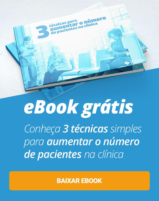 Microbook Grátis: Conheça 3 técnicas simples para aumentar o número de pacientes na clínica. Clique aqui!