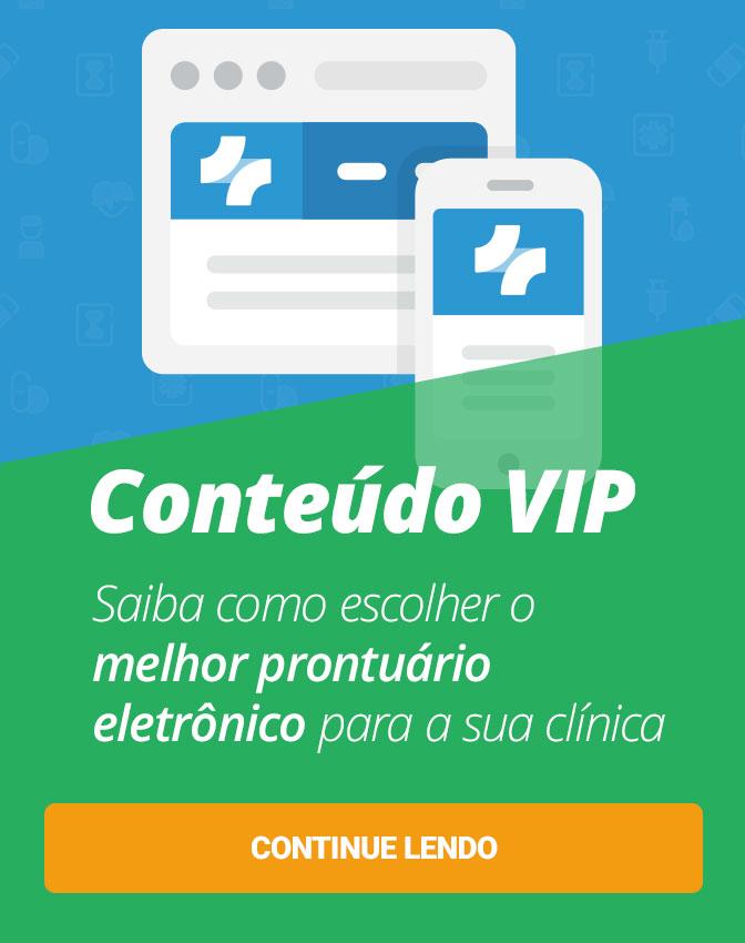 Conteúdo VIP: Guia DEFINITIVO para escolher um prontuário eletrônico