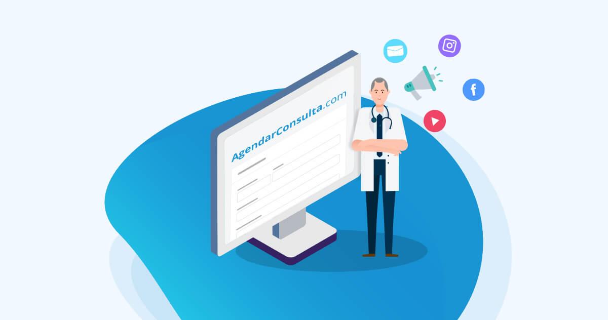 Como fazer a divulgação do agendamento online na sua clínica