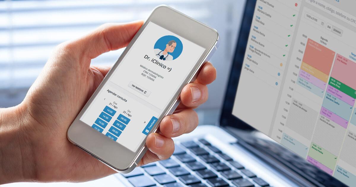 Agendamento online iClinic: como sincronizar com seu perfil médico