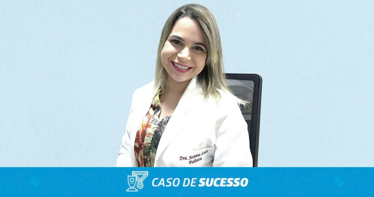 Como a Dra. Josiane conquistou agilidade em sua consulta com o iClinic?