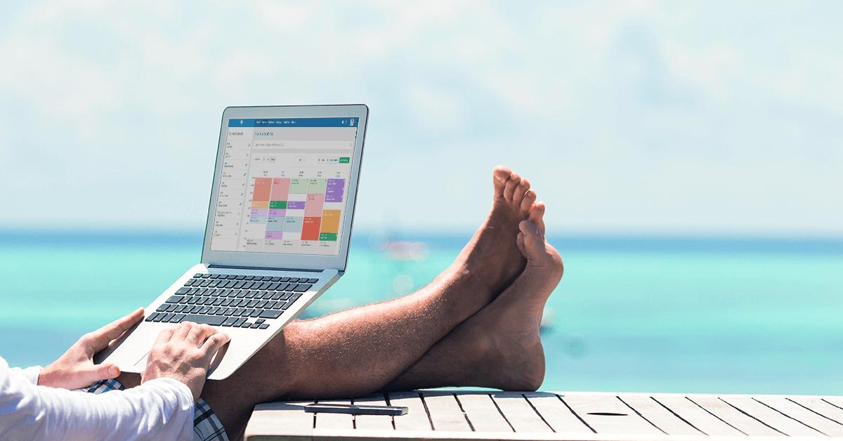 Como sair de férias e ter a agenda lotada com o iClinic?
